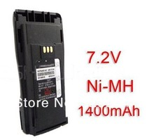 Battery 7.2V for Motorola GP3688 GP3188 CP040 CP150 EP450 CP380 CP200+Belt Clip Walkie talkie new