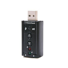 7.1 Channel USB External Sound Card Audio Adapter Fast Shipping(China (Mainland))