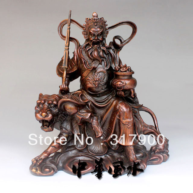 chinese god of wealth statue