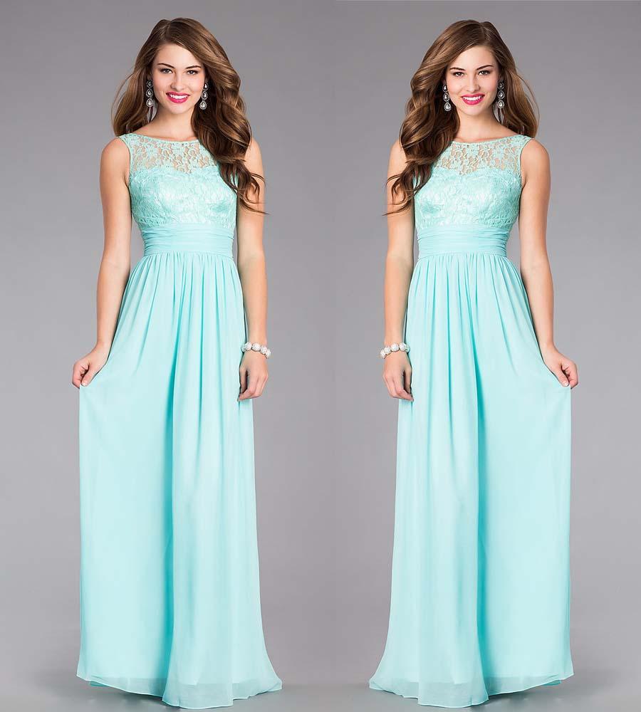 Вечернее Голубое Платье В Пол Купить