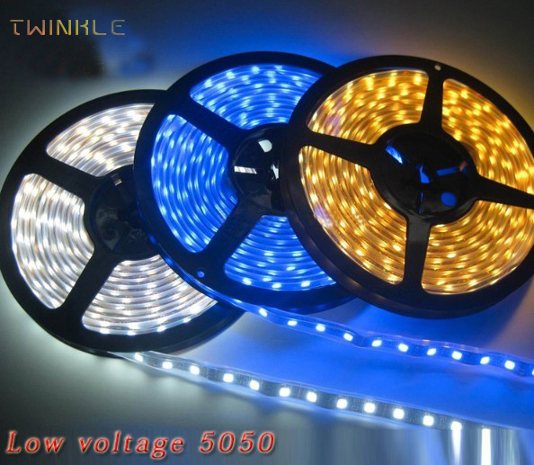 9 colors Led Strip IP65 Waterproof 5M SMD 5050 300 LEDs/Roll Warm white, pink, purple please contact us(China (Mainland))