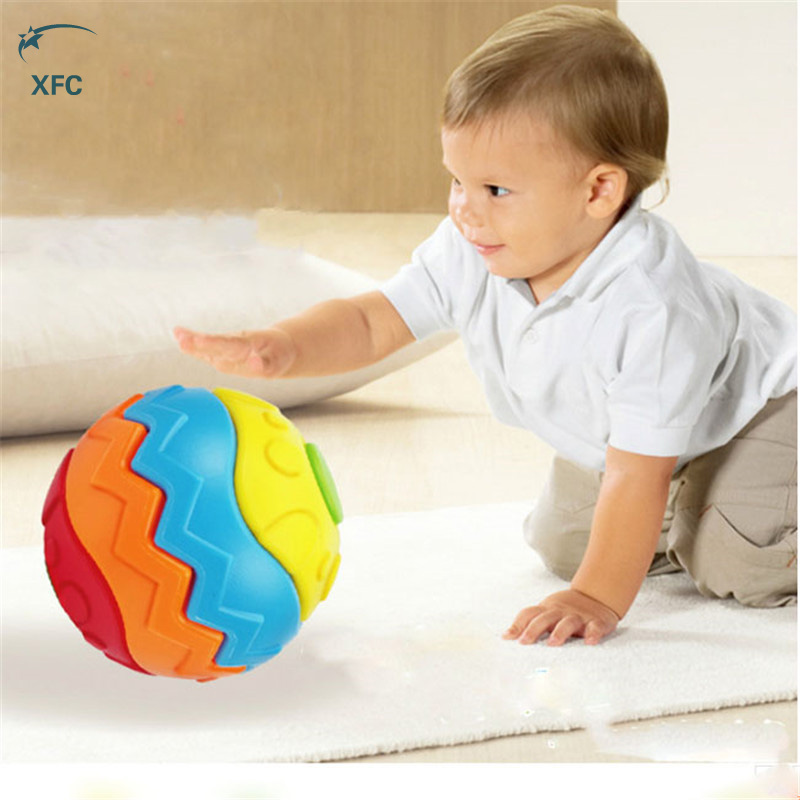 XFC New Baby Toddler Children Colorful 3D DIY Puzzle Toy Creative Educational Magic Handmade Toy Gift(China (Mainland))