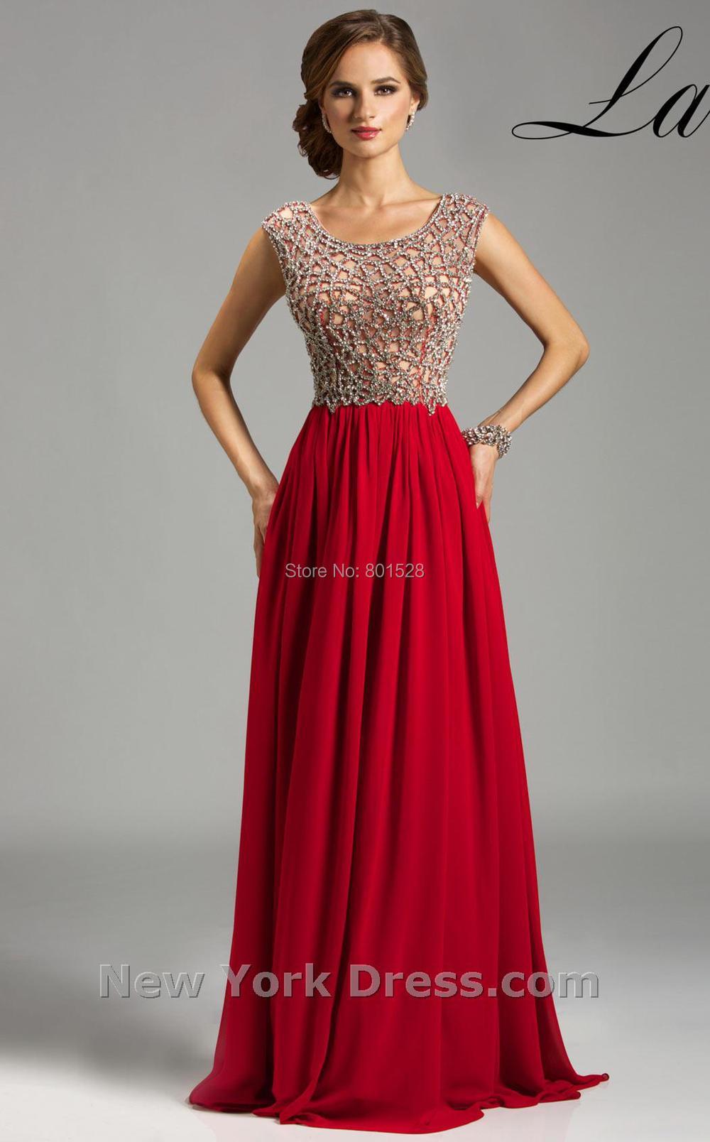 Turmec » red prom dresses cap sleeves