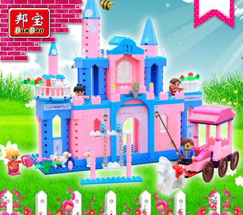 Bang Bao blocks Castle travel puzzle educational toy blocks plastic toys wholesale<br><br>Aliexpress