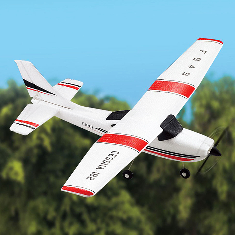 Newest With Camera Wltoys F949 Sky King 2.4G Radio Control 3CH RC Airplane Fixed Wing Plane  VS WLtoys F929 F939 F959