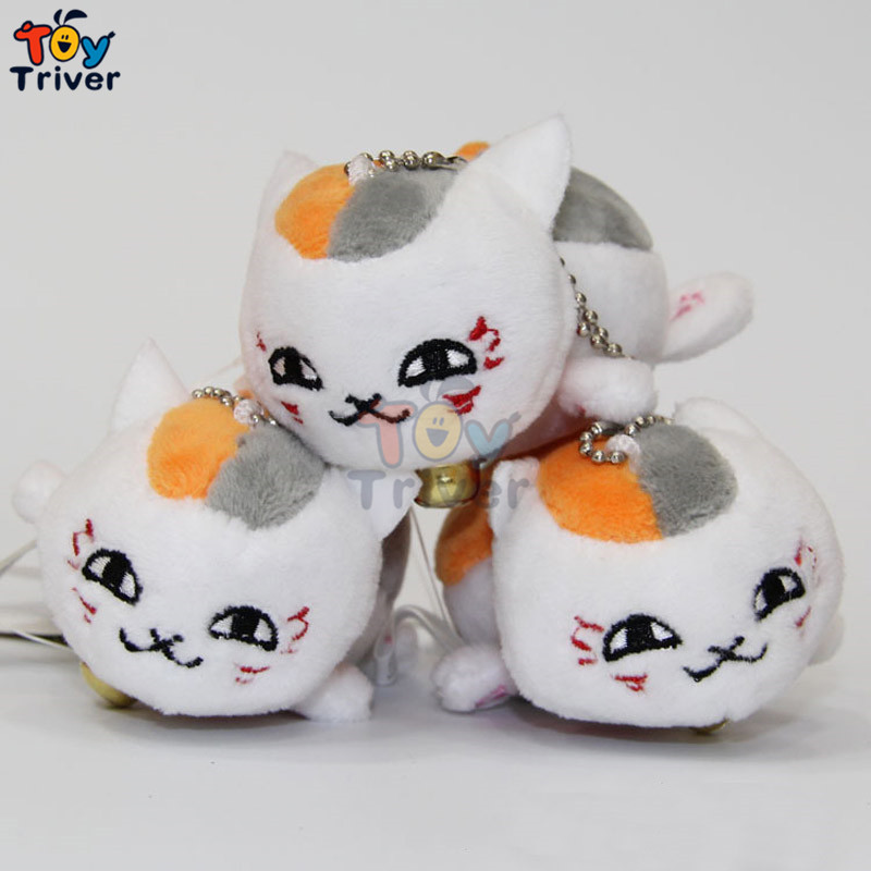 Wholesale Plush Japan Natsume's Book Of Friend Natsume Yuujinchou Pendant Toy Stuffed Doll Animal Wedding Party Shop Gift Triver(China (Mainland))