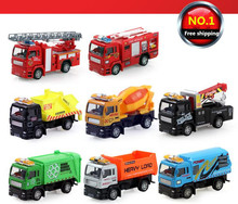 1:55 scale alloy Engineering vehicles, fire engines, super Trailer, pull back model car, children's toys, ! - HangJue Electronic Commerce Co.,Ltd Store store