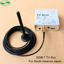 Car ISDB-T ISDB Digital TV Receiver Box With Antenna For Android 4.4 Android 5.1.1 DVD Player, Fit For South America, Japan(China (Mainland))