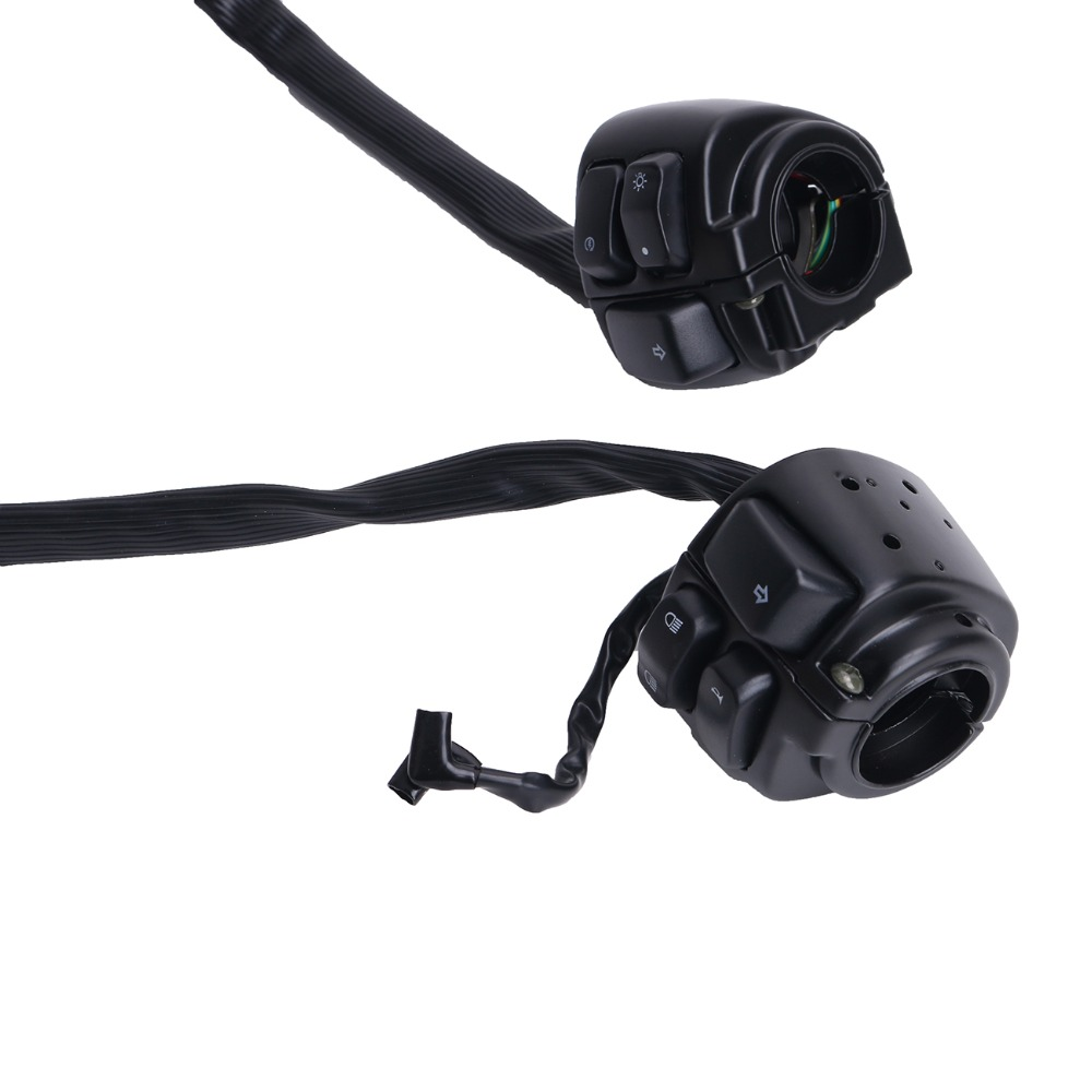 2018 Black Control Switch 1 Handlebar 29 Wire Harness Turn Signals Easy Rider Wiring Car Mb206 7