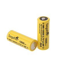 TangsFire 30A 18500 Battery 3.7V 1800mAh Rechargeable Batteries Power Source For Flashlight or other devices(China (Mainland))
