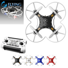 FQ777-124 Mini Pocket Drone 4CH 6Axis Gyro Quadcopter with Switchable Controller RTF