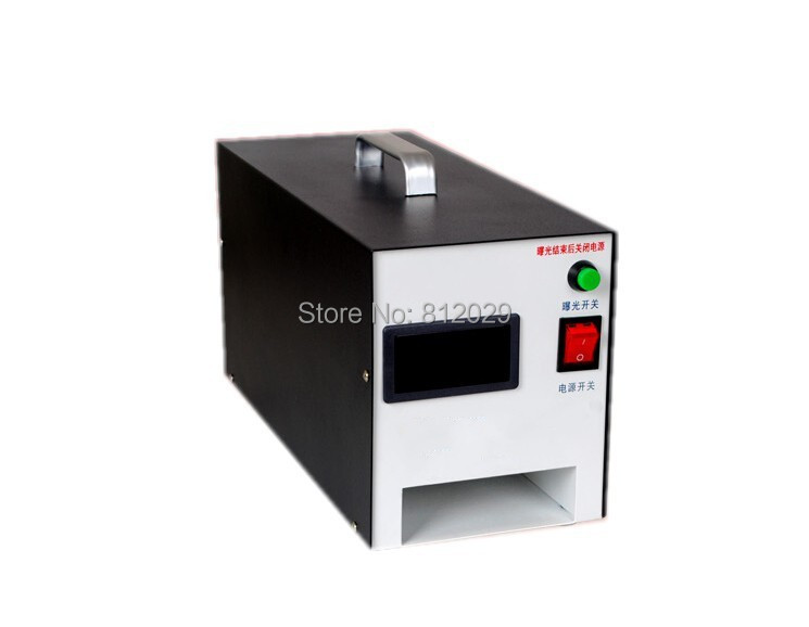high quality Photosensitive Portrait flash stamp machine/self-inking stamp with digital LCD(China (Mainland))
