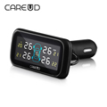 TPMS Wireless Car Tire Pressure Monitoring System 0 8Bar LCD Display Monitor Alarm With 4 Auto