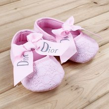 Baby girls princess Infant Shoes first walkers Soft Sole Baby Shoes Comfortable Cute Newborn bebe Sapatos Size 11,12,13cm r1272(China (Mainland))