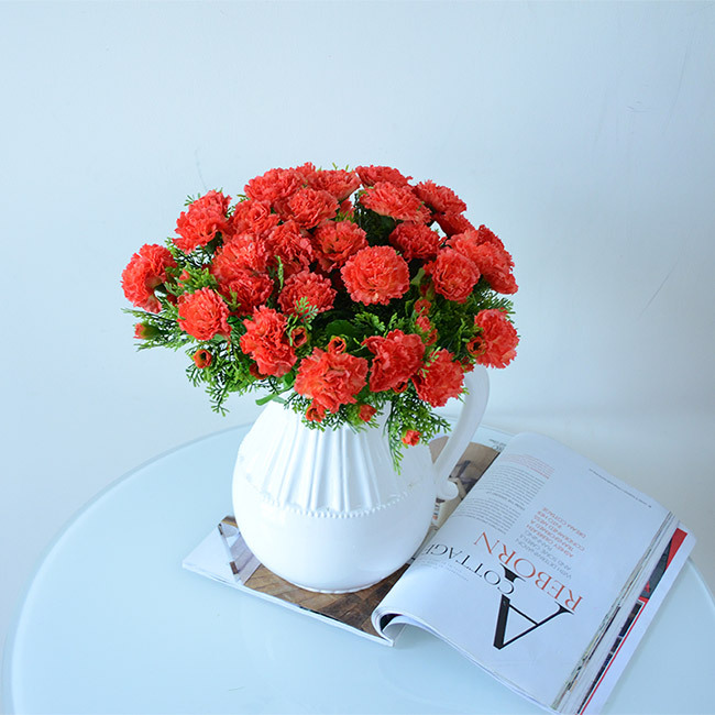 Plants Artificial Flower Silk Flowers For Wedding Home Decoration