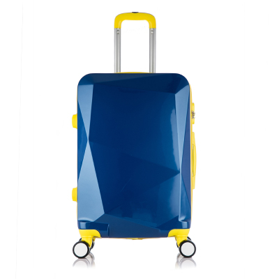 Colorful multilateral reflective mirror luggage suitcase universal wheels trolley travel bag password box pull bags