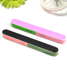 2015 New Fashion hot sale Article Nail File Of The Six Sides Frosted Professional Manicure Nail Tools Drop Shipping NA-0125(China (Mainland))