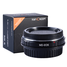 Buy K&F CONCEPT MD EOS Adapter Ring Pro Lens Mount Adapter Minolta MD MC Lens Canon EOS Camera Body Adapter Focus Infinity for $33.79 in AliExpress store