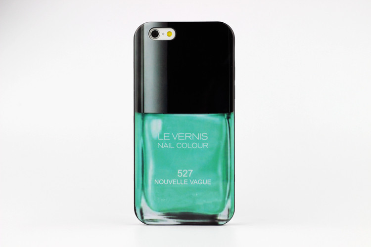 """Fashion perfume bottles nail polish Soft cover brand design mobile phone shell, for apple Iphone 6 case 4.7 """"mobile phone sets(China (Mainland))"""