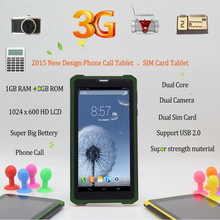 Strong  Computer Pc 7 inch Tablet Pc 1GB  8GB 2 SIM Card 2G 3G Phone call Dual Core Support USB 2.0 7 8 9 10 inch android tablet
