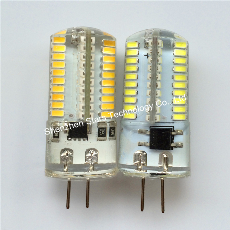 G4 G8 G9 E11 E12 E14 E17 BA15 SMD3014 80led 110V 220V Led Bulb decoration light Chandelier Crystal dimmable Corn lights(China (Mainland))