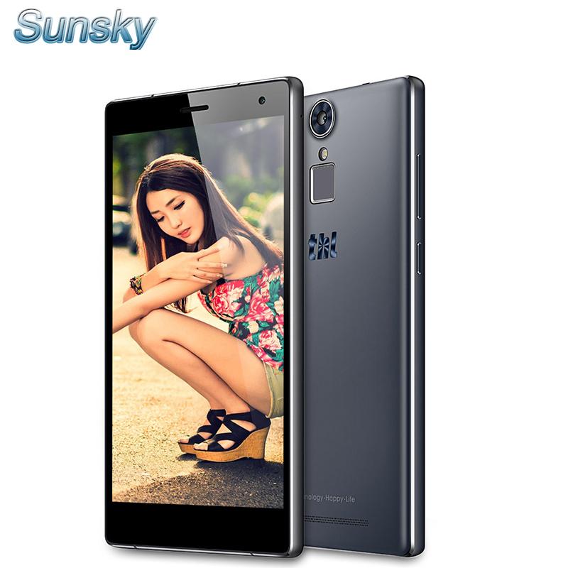 Original THL T7 5.5 inch HD 4G LTE Android 5.1 3GB RAM 16GB ROM 64bit MTK6753 Octa Core 13.0MP TOUCH ID 4800mAh OTG Mobile Phone(China (Mainland))