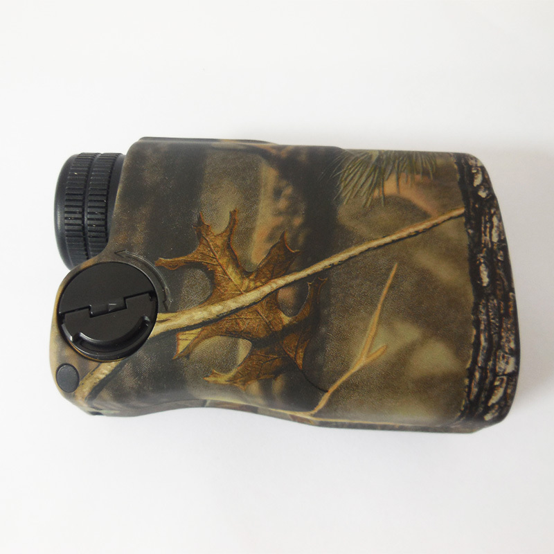 New arrival! 400M Leaves camo rangefinder and speed finder bow rifle camouflage range finder for hunting<br><br>Aliexpress