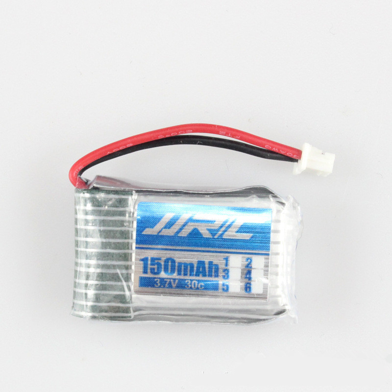 Sliver 3.7V 150mah Lipo Rechargeable Battery For JJRC H20 RC Quadcopter Drone Spare part Free Shipping