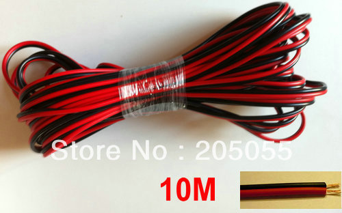 10M 2-PIN Extension Cable Wire leads For 3528 5050 Single Color LED Strip(China (Mainland))