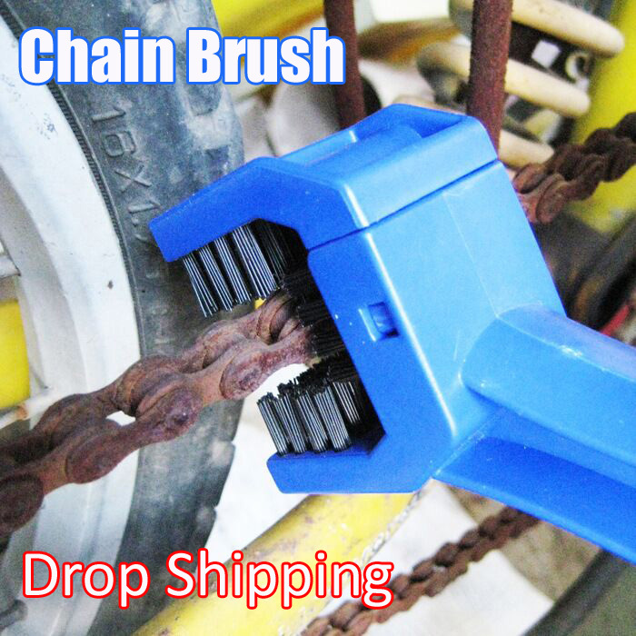 2015 New Arrivel Bicycle Motorcycle Chain Maintenance Brush Cleaning Cycle Drop Shipping(China (Mainland))