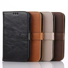 Stand Luxury Leather Wallet Case for BlackBerry Classic Flip Cover for BlackBerry Classic , For BlackBerry Classic Case(China (Mainland))