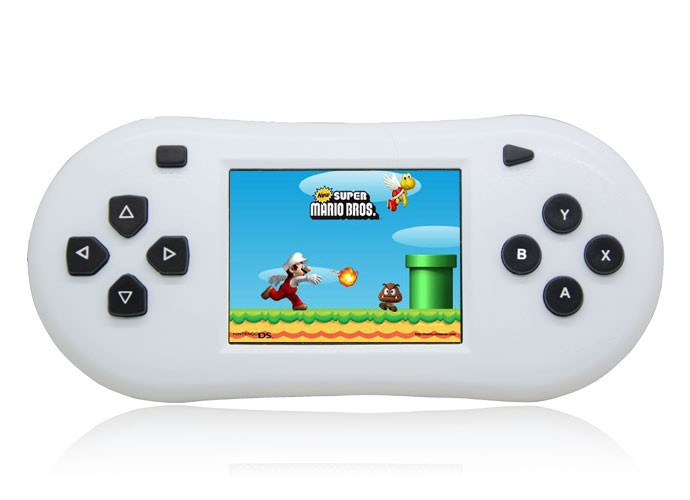 New 2.5 inch portable video game console handheld game player 8 bit Support TV out Function Drop Shipping!(China (Mainland))