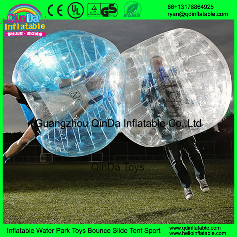 Promotional price!!! TPU/PVC 1.2m/1.5/1.7m inflatable bubble soccer, bubble football, human loopy ball(China (Mainland))