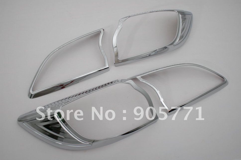 Chrome Tail Light Cover - Mazda 3 2010 Up Hatchback<br><br>Aliexpress