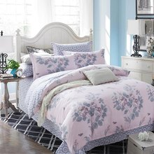 2016 New Elegant Blue Night Sky 4 Piece Bedding Set reactive printed bed linen flat sheet bedclothes not quilt Home Textile(China (Mainland))
