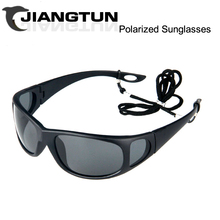 JIANGTUN Lado Projeto de Pesca Anti-UV Polarizada Óculos De Sol Polaroid Óculos Esporte Marca Designer Driving Oculos de sol Masculino