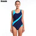 Riseado 2016 New Sexy Sport Suits One Piece Swimsuits Swimwear Women Summer Padding monokini Beach Bathing