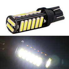 50X T10 7014 7020 20 SMD W5W 20 Led Auto Door Lights 12V DC Car Wedge Reading Lamps Indicator Lights Cold White(China (Mainland))