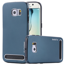 S6/S6 Edge FLOVEME Brand TPU + Aluminum Hybrid Armor Case For Samsung Galaxy Note 5/S5 Mobile Phone Accessories Back Cover Bag