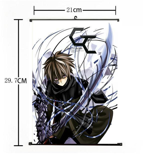 Hot Japan Anime Guilty Crown Crazy Cool Shu Home Decor Poster Wall Scroll 21*30