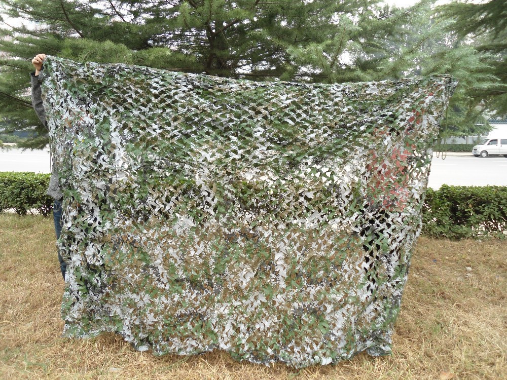 Digital camouflage netting military camping hunting woodland camo net