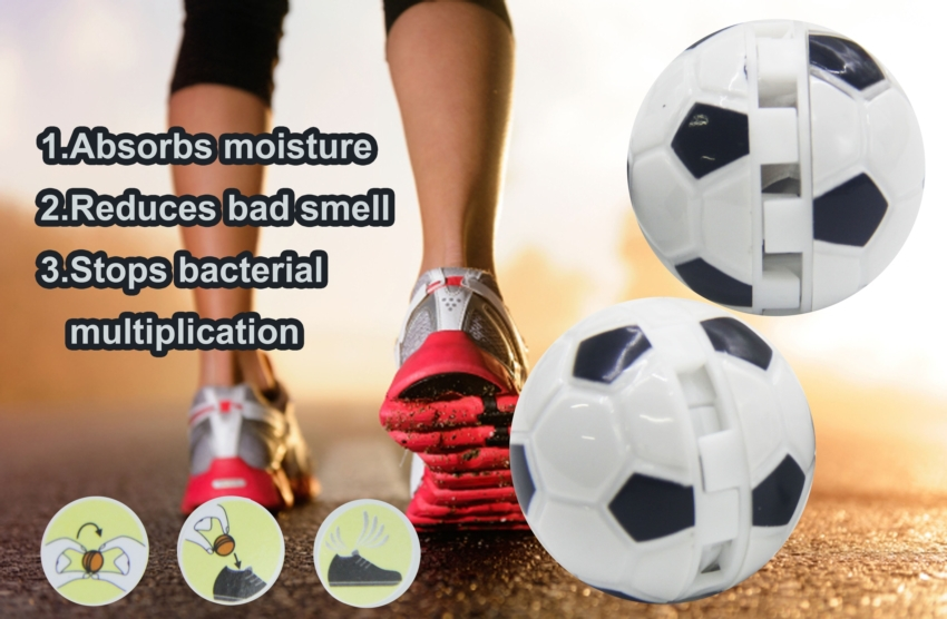Shoes Perfume Mineral Organic High Degree Deodorant Balls Reduces Bad Smell Menthol Scent Ball Best Sale Perfume Deodorant(China (Mainland))