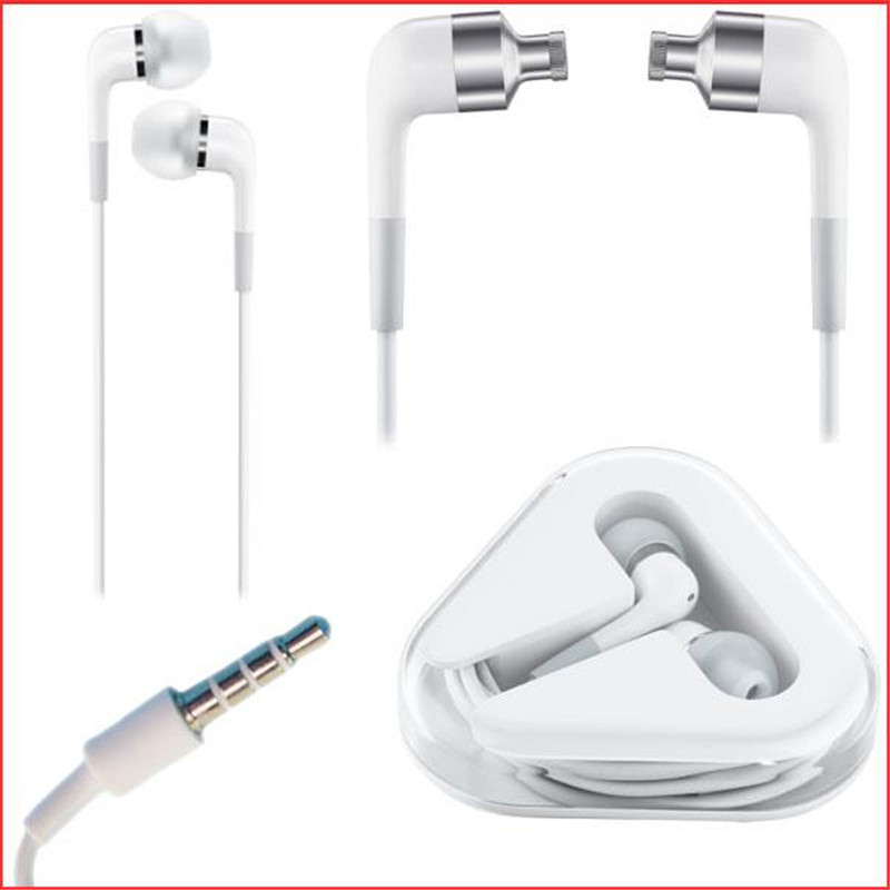 Fashion 3.5mm Handsfree In-Ear Earphone Headset For Apple iPhone 4 4S 4G 3G 1.2m 9060(China (Mainland))