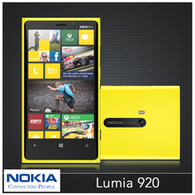 Nokia 920 Original Lumia 920 Unlocked 32GB 4.5'' IPS Dual-Core 8.7MP 3G WIFI NFC GPS Windows Mobile Phone Win 8 OS Refurbished(China (Mainland))