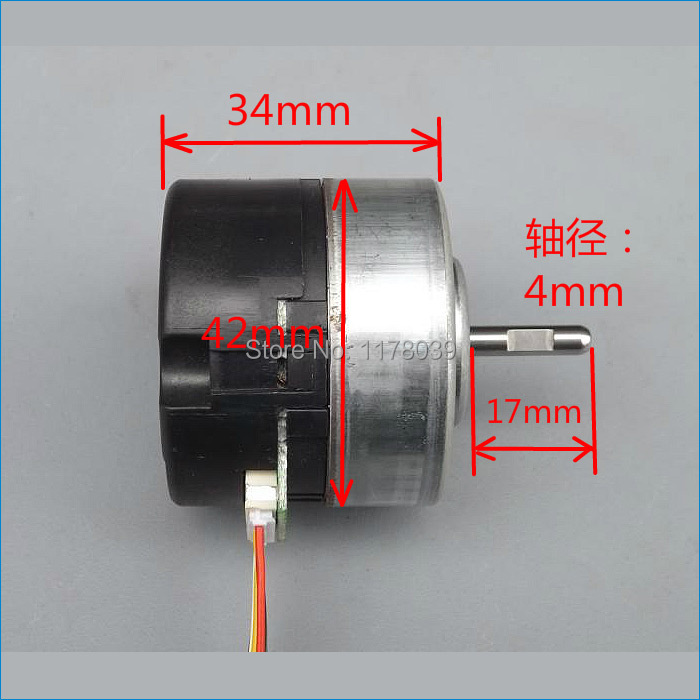 12 volt micro brushless dc electric motors speed 4800rpm for Brushless dc motor speed control