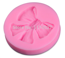 Butterfly Bow silicone mold Chocolate Candy Jelly silicon cake decorating tools Bakeware sugarcraft mould kitchen accessories