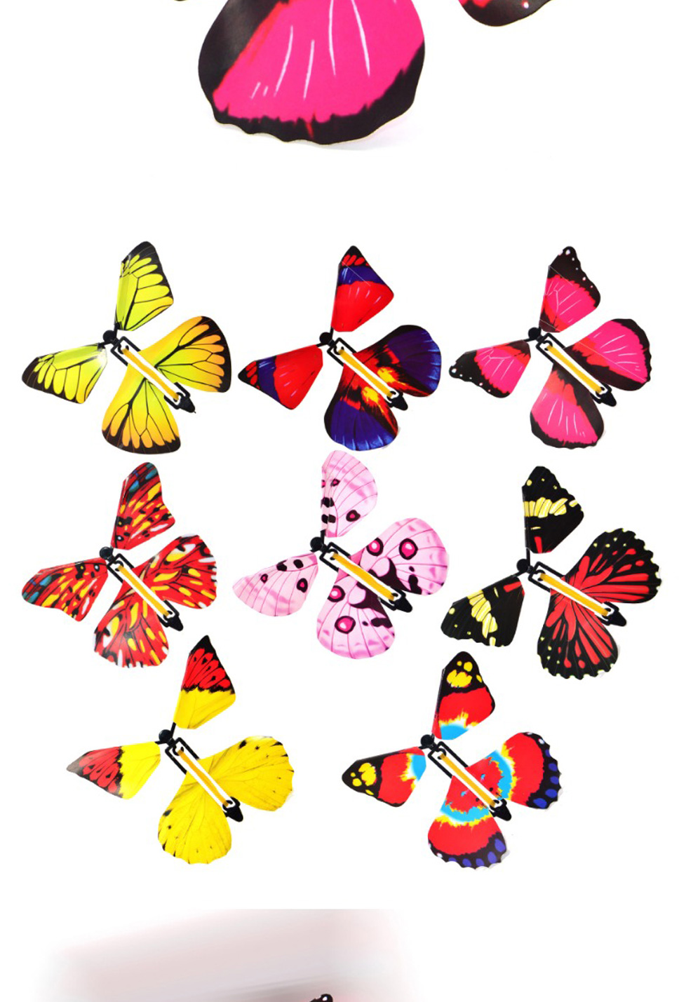 Toys Flying Transform Creative Flying Butterfly Magic Prop Butterfly Toy Trick