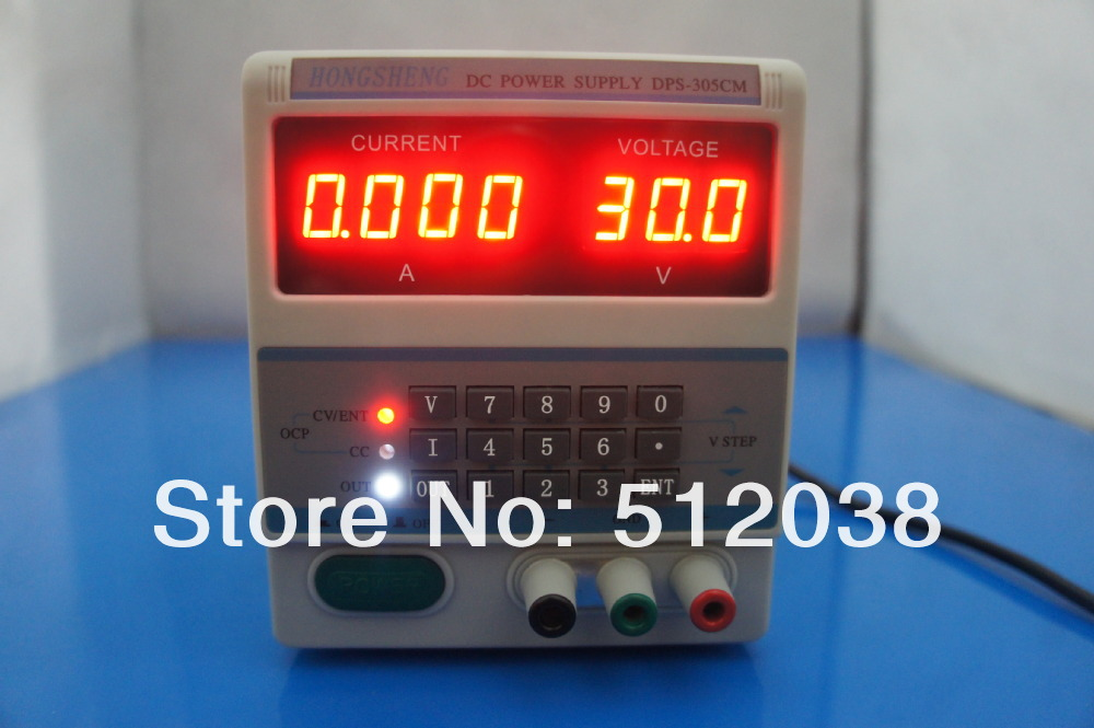 DHL , 110/220 V Notebook cell phone repair DC power supply DPS-305CM