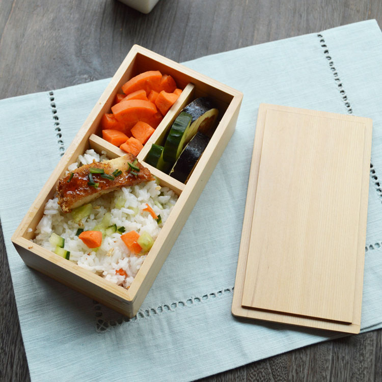 japanese wooden lunch box for kids handmade lunch boxes. Black Bedroom Furniture Sets. Home Design Ideas