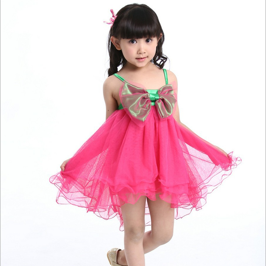 Children's wear brand vestido de princesa sofia girls BOW LACE manufacturers selling the girl dress Dropshipping LY0013(China (Mainland))